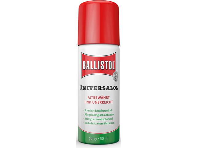 Ballistol lubrifiant - 50ml vert/rouge